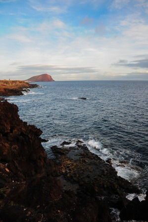 canary island: Landscape in South of Tenerife Canary Island Spain