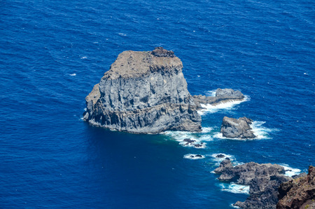 Aerial View Of El Hierro Canary Island Spain photo