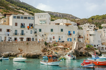 levanzo: Picture View of Egadi Islands, Sicily, Italy, Europe