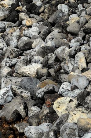 stone volcanic stones: Volcanic Round Rock Stones Texture or Background