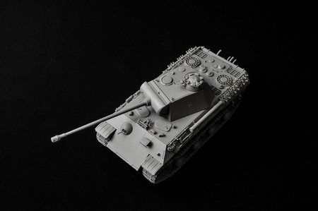 second world war: Tank. Track tank from the Second World War. Fighting vehicle.