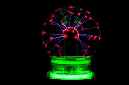 Plasma Static Electricity on a Tesla Sphere photo