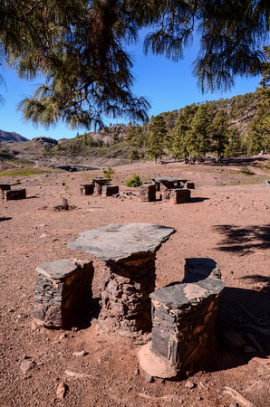 recreational area: Picnic Recreational Area in Gran Canaria Canary Islands