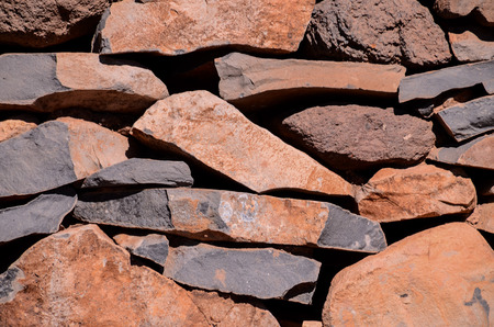 Vintage Old Brick Stone Wall - Background Texture photo