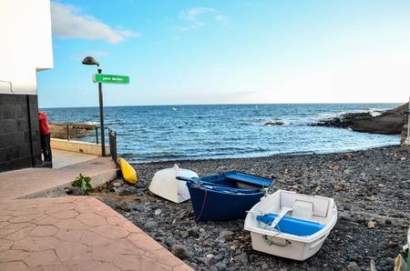 Sea Village at the Spanish Canary Islands. photo