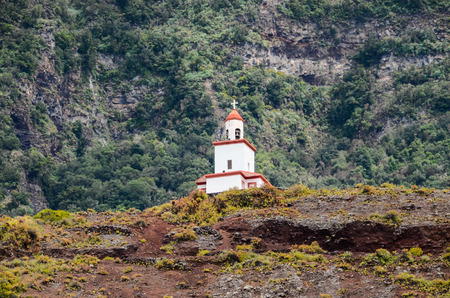 Belfry Of Ermita De La Caridad, Frontera, El Hierro, Canary Islands photo