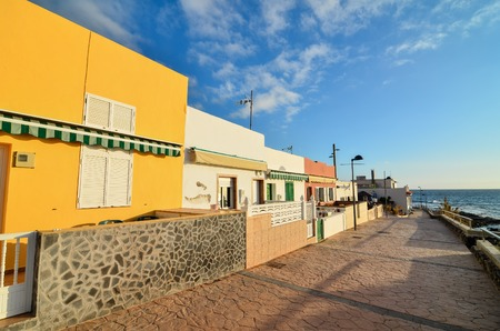 canary: Sea Village at the Spanish Canary Islands.