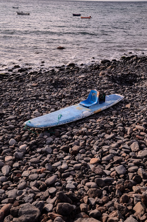 modified: Handmade Modified Surf Board into a Kayak Boat