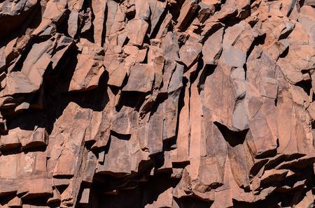 obrero: Antecedentes seco lava basáltica textura de la roca de piedra