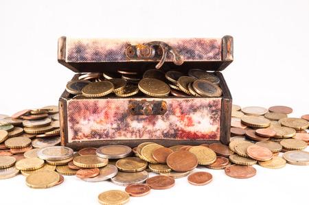 money concept: Picture of a Business Money Concept Idea Stock Photo
