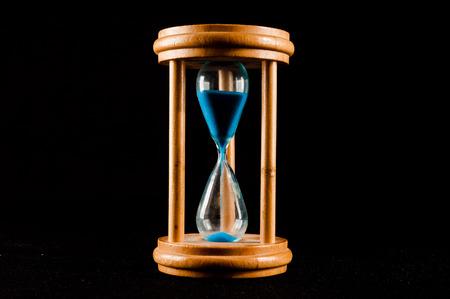sandglass: Classic Style Vintage Old Hourglass Sandglass Clock Stock Photo