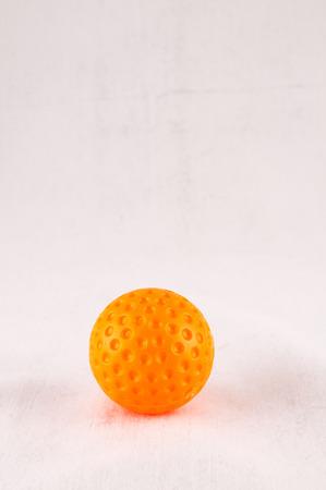 pelota de golf: Classic Ronda Estilo pelota de golf con textura Esfera Foto de archivo