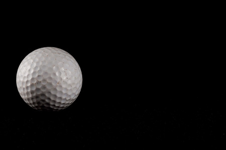 Classic Style Round Golf Ball Textured Sphere photo