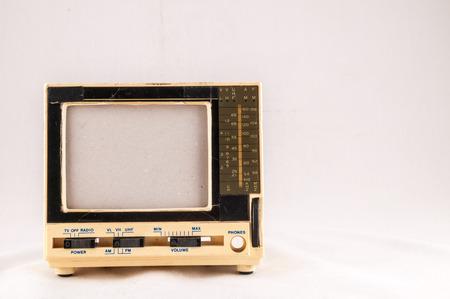 television antigua: Classic Retro Vintage Estilo Antiguo plástico Televisión