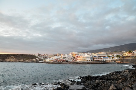 canary islands: Sea Village at the Spanish Canary Islands.