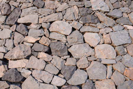 stone volcanic stones: Vintage Old Brick Stone Wall - Background Texture