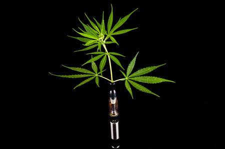 e cig: Modern metal de cigarrillos electr�nicos E Cig vaporizador y Cannabis