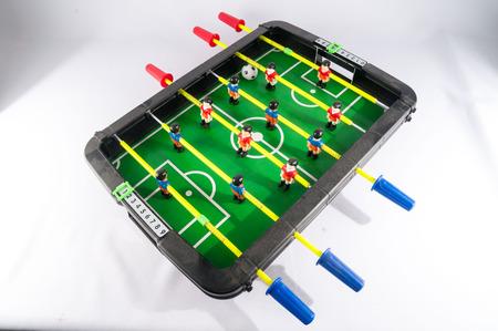 foosball: Classic Colored Plastic Foosball Football Toy Game