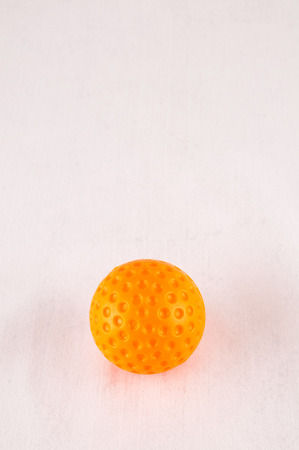 golfball: Classic Style Round Golf Ball Textured Sphere