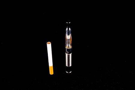 e cig: Modern metal de cigarrillos electr�nicos E Cig vaporizador