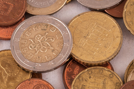 money concept: Picture of a Business Money Concept , European Euro Currency Texture