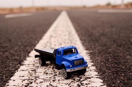 dumptruck: Model of the Truck on an Asphalt Road