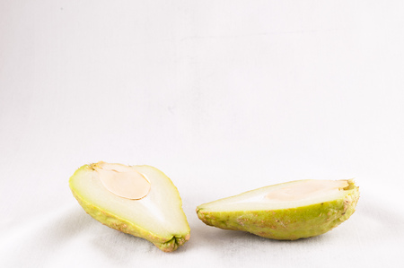 asian pear: Chayote (Sechium Edule) is a Vegetable Native of South America