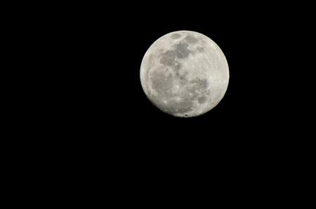 mond: Mond Nahaufnahme mit den Details der Mondoberfläche. Lizenzfreie Bilder