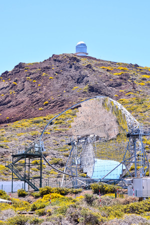astronomical: Picture of a Modern Scientific Astronomical Observatory Telescope