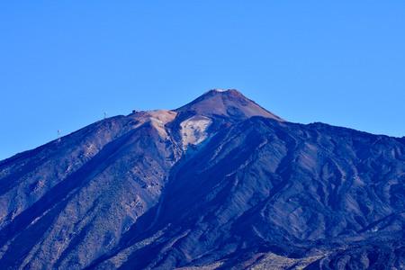 volcan: Desert Landscape in Volcan Teide National Park, Tenerife, Canary Island, Spain Stock Photo