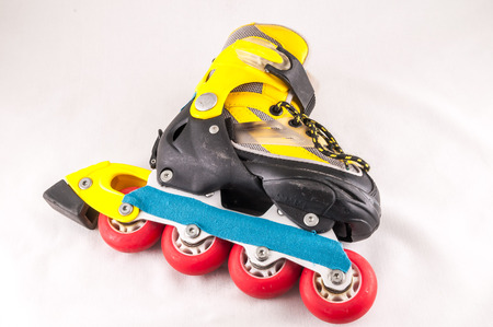 consumed: Classic Style Vintage Consumed Old Roller Skate