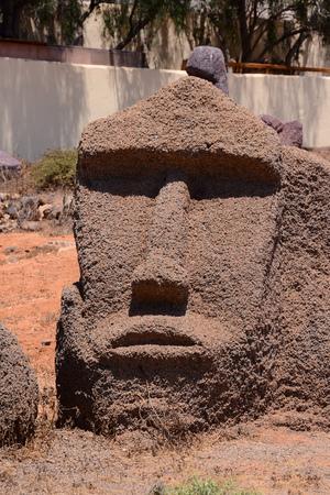 moai: Photo Foto de una máscara clásico del estilo de Moai