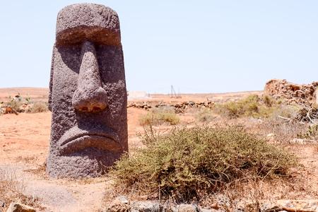 moai: Photo Foto de una m�scara cl�sico del estilo de Moai