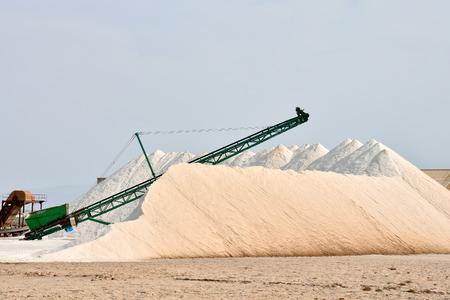 salt flat: Photo Picture of Salt Flat Production Field Stock Photo