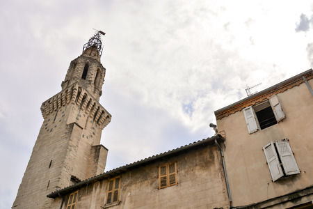 avignon: Avignon in Provence View on city of Popes Palace