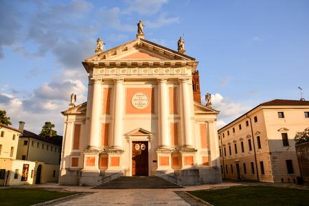 veneto: Photo Picture View of Castelfranco Veneto Medieval City in Italy