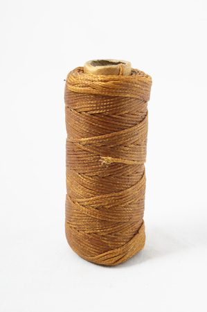 weave ball: Roll of Twine isolated on a White Background