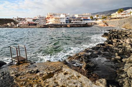 arona: Sea Village at the Spanish Canary Islands.