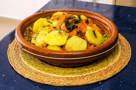 comida arabe: Libanese t�pica comida �rabe Listo para ser eated