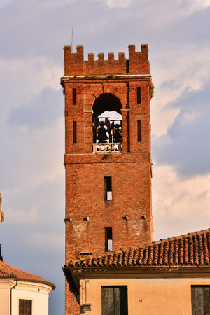 veneto: Picture View of Castelfranco Veneto Medieval City in Italy