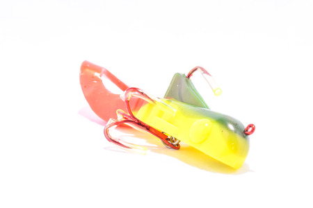 fishing lure: Picture of a Classic Colored Fishing Lure