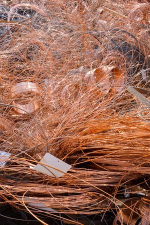 scrap heap: Picture Heap of Scrap Metal Ready for Recycling