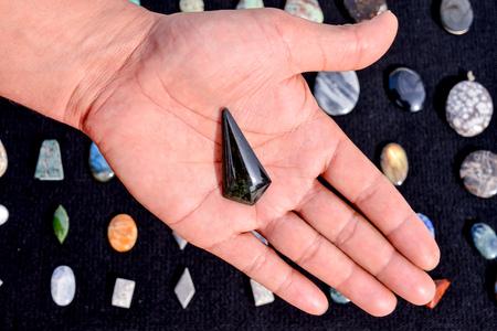 semi precious: Picture of Semi Precious Rock Stone Jewel