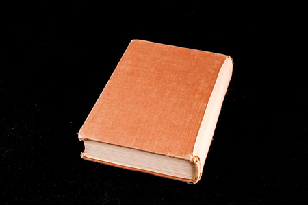 ancient philosophy: Picture of an Old Vintage Grunge Book Stock Photo