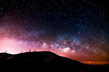 Night Sky Imagen Planetas oscuridad y Estrellas