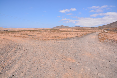 dirt path: Photo Picture of a Countryside Desert Dirt Path