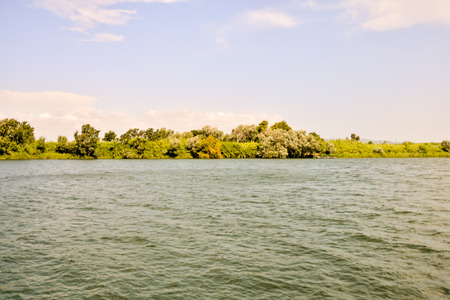 spanish landscapes: Photo Picture of the Ebro River in Spain