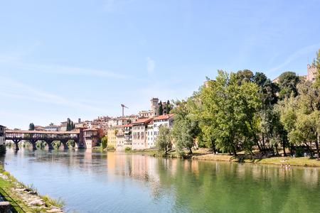 grappa: Photo Picture of the Medieval City Bassano del Grappa Stock Photo