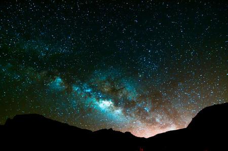 Night Sky Imagen Planetas oscuridad y Estrellas Foto de archivo - 51257893