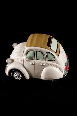 statuette: Picture of an Old Classic Car Statuette